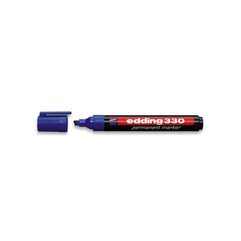 Маркер перманентный Edding E-330 синий толщина линии 1-5 мм