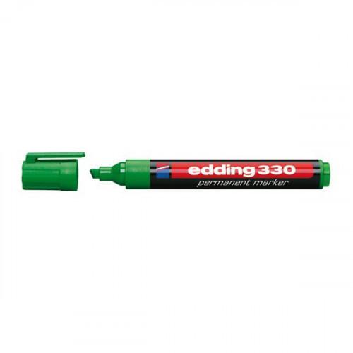 Маркер перманентный Edding E-330 зеленый толщина линии 1-5 мм