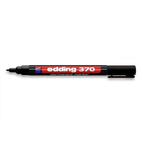 Маркер перманентный Edding E-370 черный толщина линии 1 мм