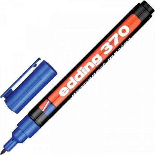 Маркер перманентный Edding E-370 синий толщина линии 1 мм