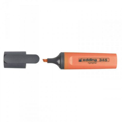 Текстовыделитель Edding E-345 оранжевый толщина линии 1-5 мм