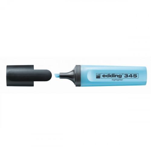 Текстовыделитель Edding E-345 синий толщина линии 1-5 мм