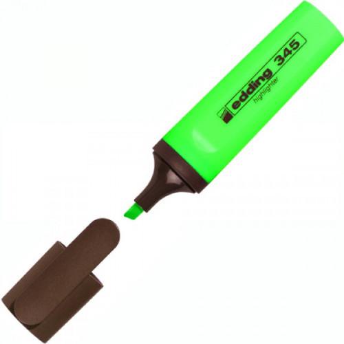 Текстовыделитель Edding E-345 зеленый толщина линии 1-5 мм