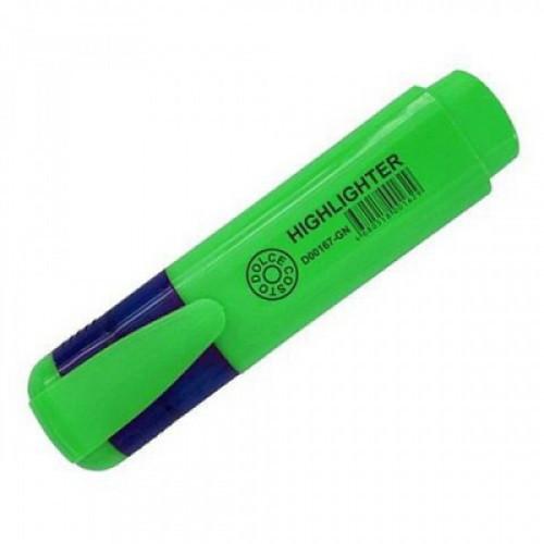 Текстовыделитель DOLCE COSTO зеленый 5мм