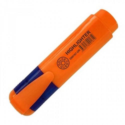Текстовыделитель DOLCE COSTO оранжевый 5мм