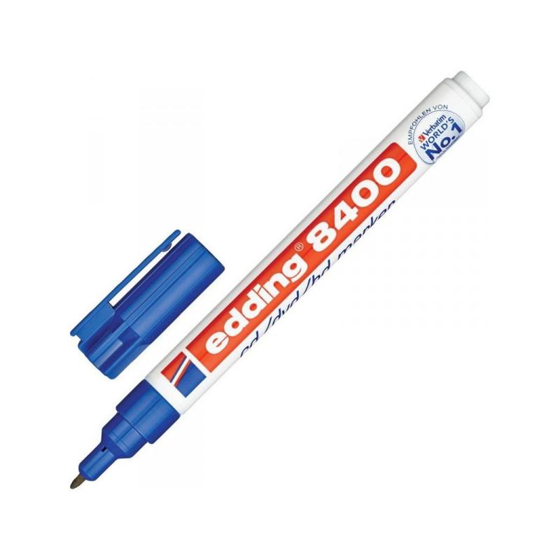 Маркер для CD Edding E-8400/3 синий 0,75 мм