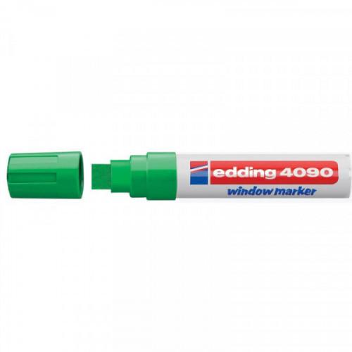 Маркер для окон Edding E-4090/004 8 мм зеленый стираемый