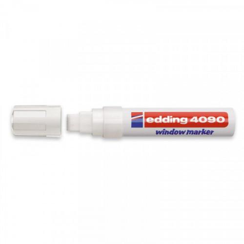 Маркер для окон Edding E-4090/049 8 мм белый стираемый