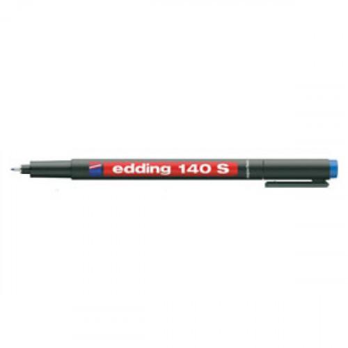 Маркер для пленок и глянцевых поверхностей Edding E-140/3 S синий (толщина линии 0.3 мм)