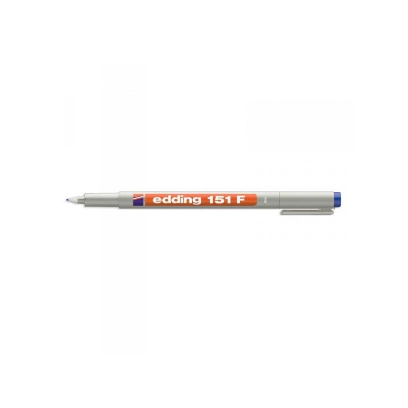 Набор маркеров для пленок и глянцевых поверхностей Edding E-151/4 S 4 цвета толщина линии 0.6 мм