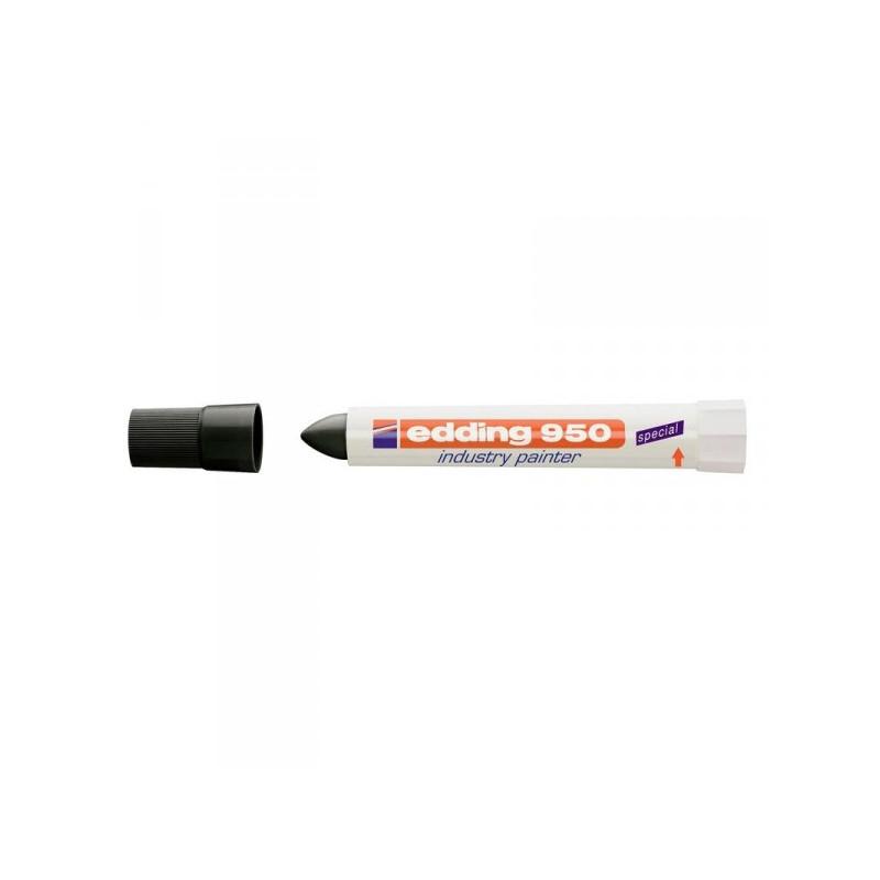 Маркер для промышленной графики Edding E-950/1 черный толщина линии 10 мм
