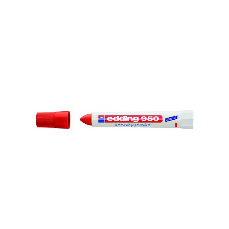 Маркер для промышленной графики Edding E-950/2 красный толщина линии 10 мм