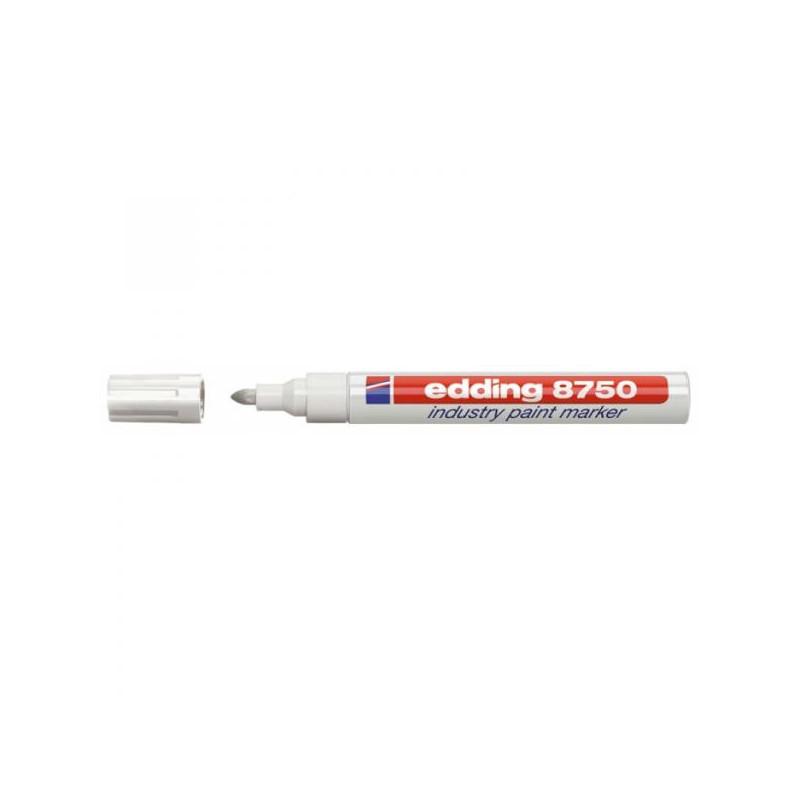 Маркер для промышленной графики Edding E-8750/49 белый толщина линии 2-4 мм