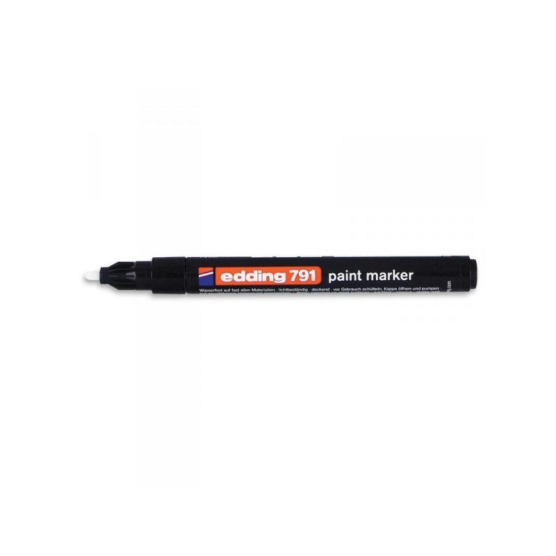 Маркер пеинт лаковый Edding E-791/1 черный толщина линии 1-2 мм