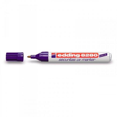 Маркер для ультрафиолетовых лучей Edding E-8280 бесцветный толщина линии 1.5-3 мм