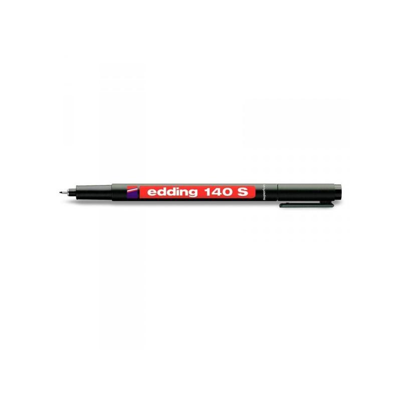 Маркер для пленок и глянцевых поверхностей Edding E-140 S черный с толщиной линии 0.3 мм