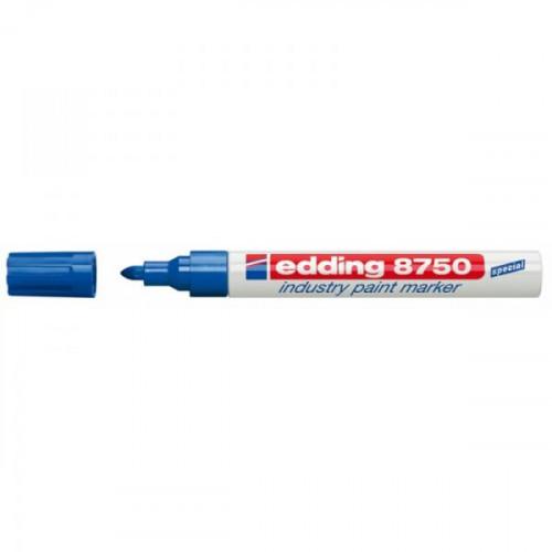 Маркер для промышленной графики Edding E-8750/3 синий толщина линии 2-4 мм