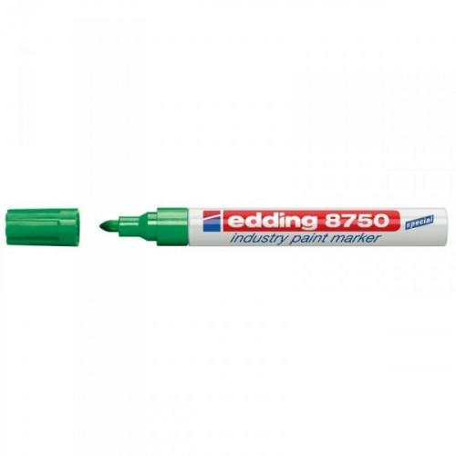 Маркер для промышленной графики Edding E-8750/4 зеленый толщина линии 2-4 мм