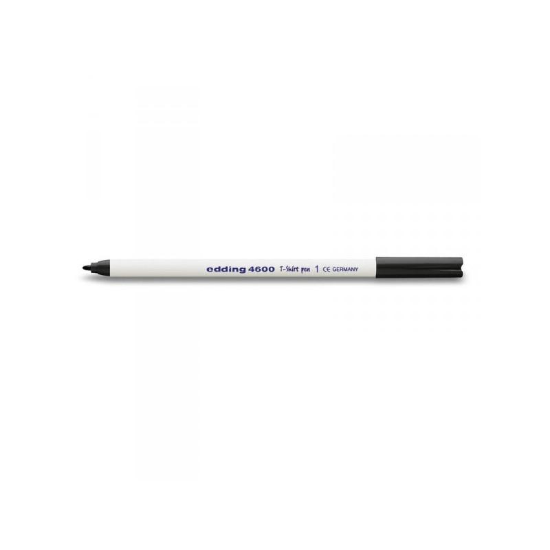 Маркер по ткани Edding E-4600/1 черный толщина линии 1 мм