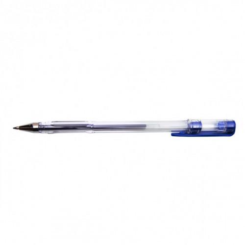 Ручка гелевая DOLCE COSTO в прозрачном корпусе синяя толщина линии 0,5 мм