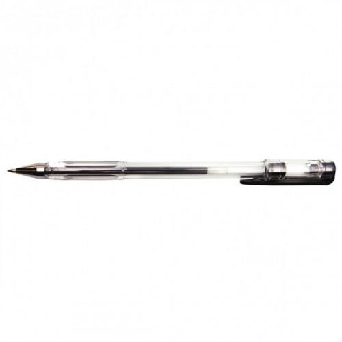 Ручка гелевая DOLCE COSTO прозрачный корпус черная 0,5 мм