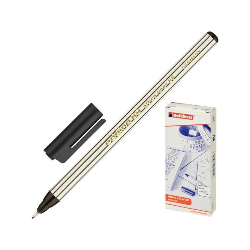 Линер Edding E-89/001 черный толщина линии 0.3 мм