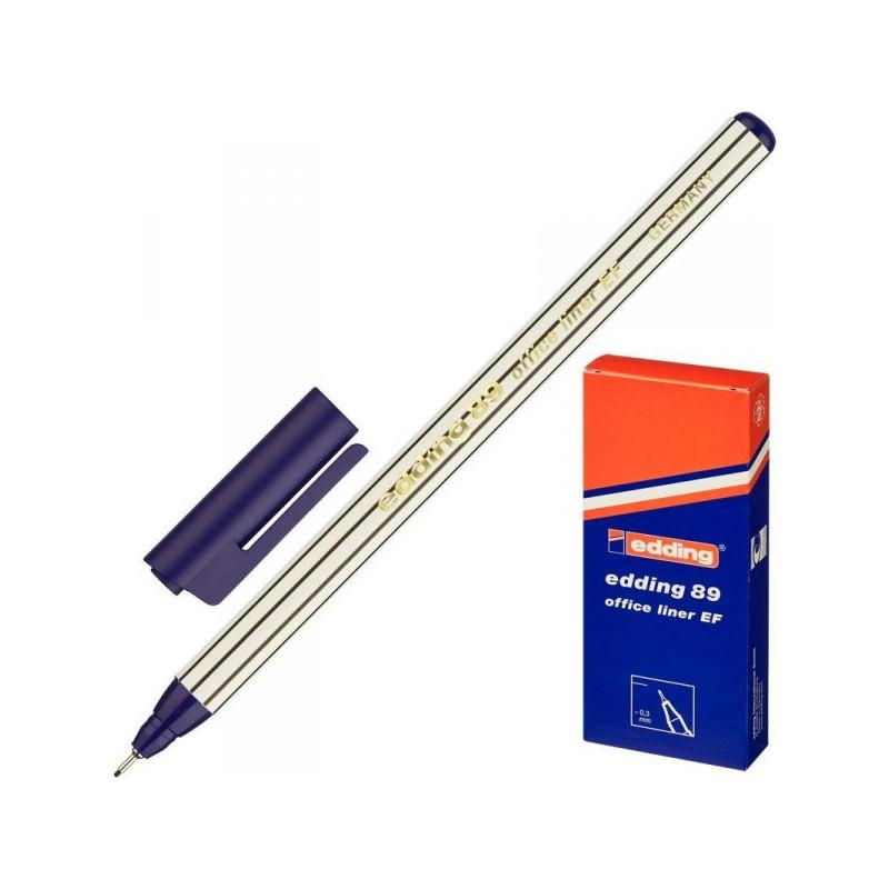 Линер Edding E-89/003 синий толщина линии 0.3 мм