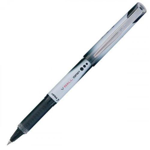 Роллер Pilot BLN-VBG5 черный толщина линии 0.5 мм с резиновой манжеткой