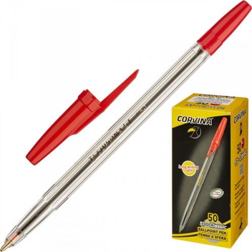 Ручка шариковая Universal Corvina красная