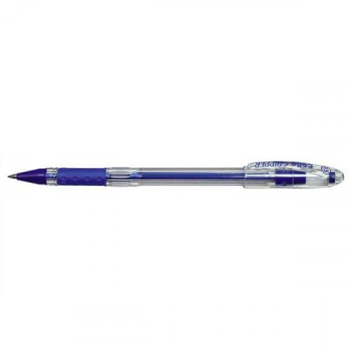 Ручка шариковая Cello GRIPPER 0,5 мм синяя с резиновой манжеткой