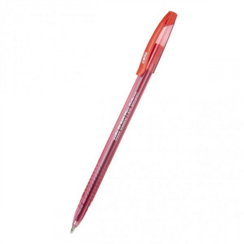 Ручка шариковая Cello SLIMO 1 мм красная