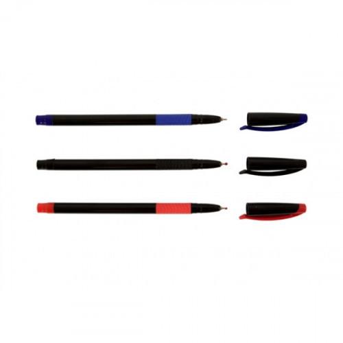 Ручка шариковая SLIMO GRIP 0,7 мм черная