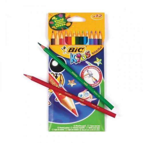 Карандаши цветные BIC Evolution 12 цветов