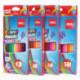 Карандаши цветные, 24 цвета, заточен, шестигранные, коробка/европодвес, Deli