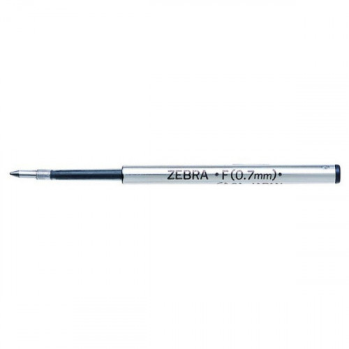 Стержень для шариковых ручек Zebra F (BR-1B-F-BK) 0,7мм черный
