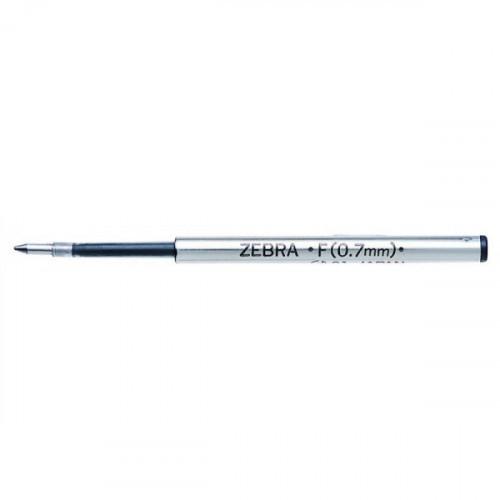 Стержень для шариковых ручек Zebra F (BR-1B-F-BL) 0,7мм синий