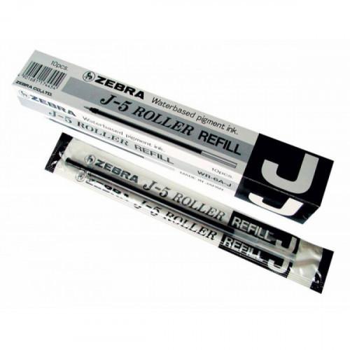 Стержень для гелевых ручек Zebra J 0,5 мм черный