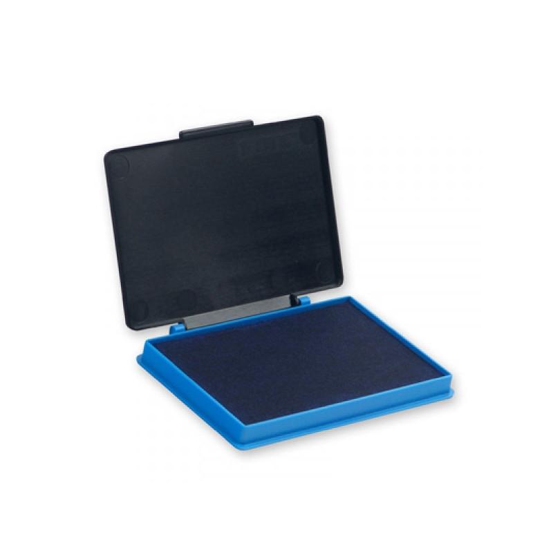 Подушка штемпельная настольная КORES 71570 синяя 7х11см пластмассовая