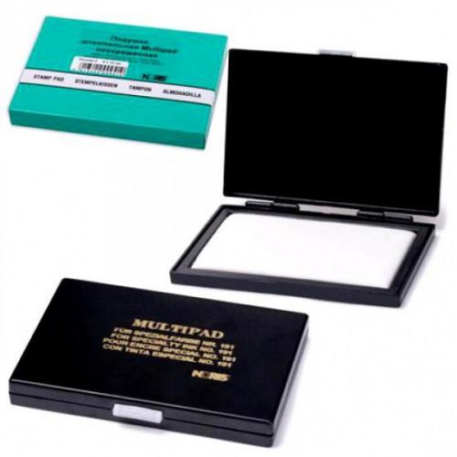 Подушка штемпельная настольная для спиртосодержащей краски 191 8х12см multipad Noris Германия