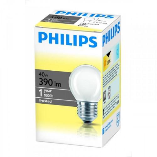 Лампа накаливания Philips 40 Вт цоколь E27 теплый свет