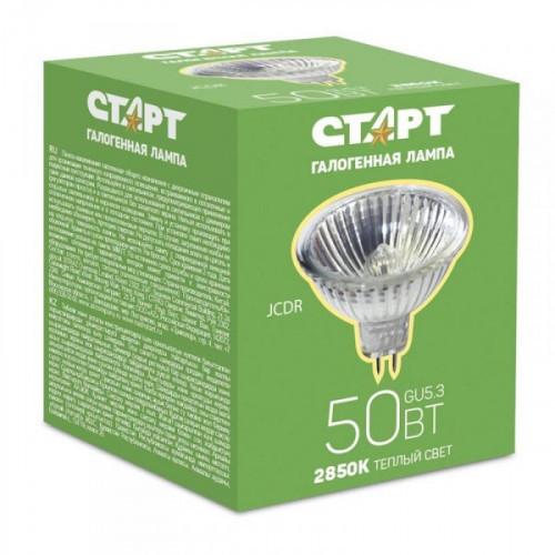 Лампа галогенная Старт 50 Вт цоколь GU5.3 теплый свет