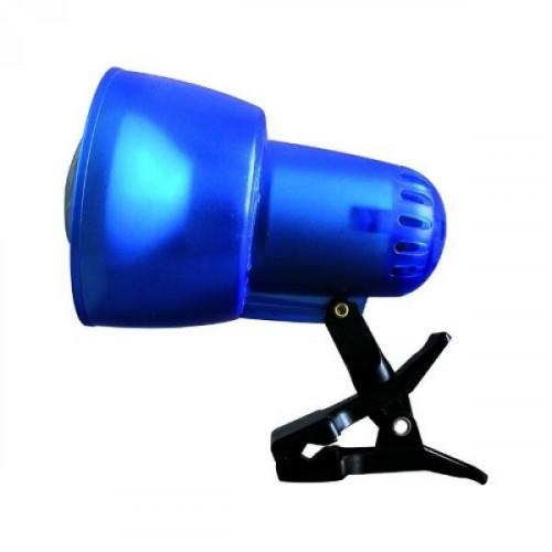 Светильник SunLit на прищепка 220В 40Вт Е14  R50 прозрачно-синий