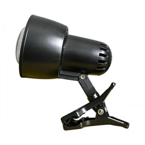 Светильник SunLit прищепка 220В 40Вт Е14 R50 чёрный