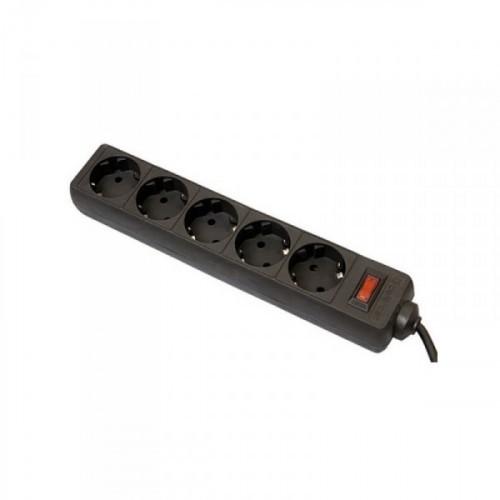 Сетевой фильтр Defender ES 5 м на 5 розеток черный