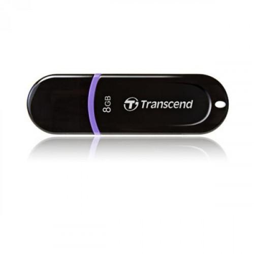 Флеш-память Transcend JetFlash 300 8 Gb USB 2.0 черная
