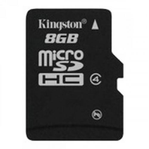 Карта памяти Kingston microSDHC 8GB Class4(SDC4/8GB)