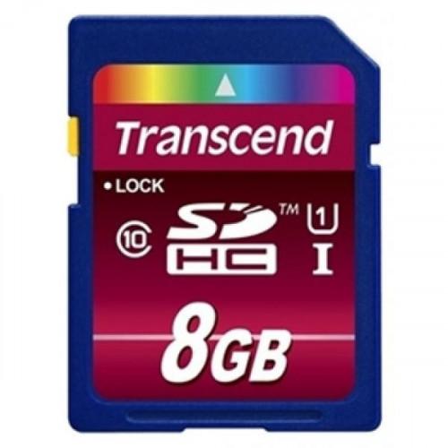 Карта памяти Transcend SDHC 8GB Class10(TS8GSDHC10)
