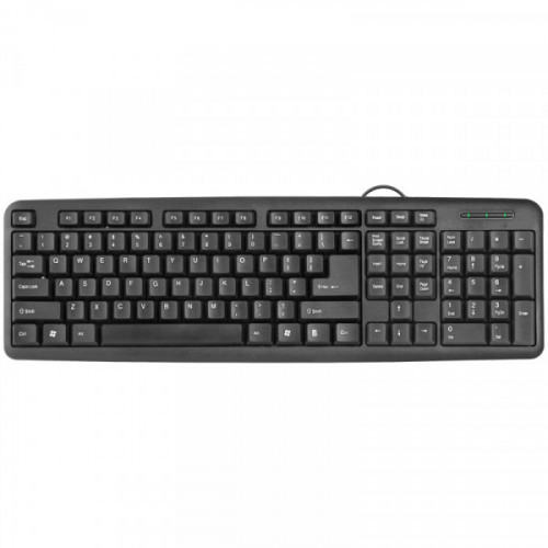 Клавиатура Defender Element HB-420, USB, черный