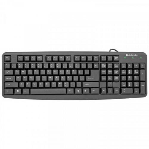 Клавиатура Defender Element HB-520, PS/2, черный