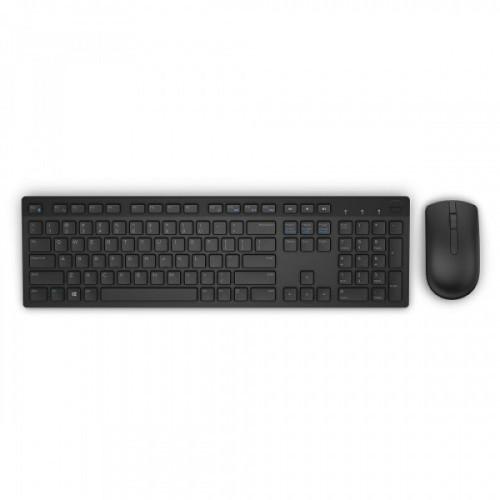 Клавиатура + мышь Dell KM636 клав:черный мышь:черный USB беспроводная slim Multimedia